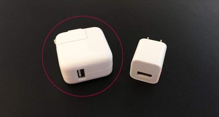 Apple 12W USB電源アダプタ