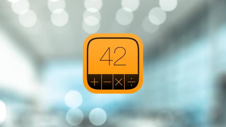 【iPad】無料・広告なし・ウィジェット対応の電卓アプリ『PCalc Lite』