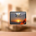 【Mac】オシャレなデザインの天気予報をデスクトップに表示してくれるアプリ『気象HD』