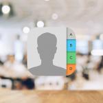 【iPhone】連絡先アプリのアドレスデータをグループ分けする方法