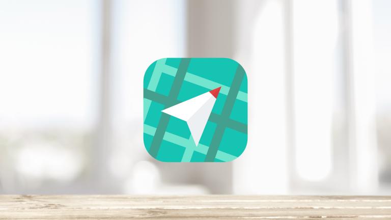 【iPhone】方向音痴でも大丈夫!目的地までの距離と方向だけを表示してくれる地図アプリ『Waaaaay!』