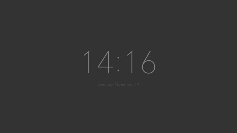 新しいタブにシンプルなデジタル時計を表示してくれるChrome拡張機能『New Tab Clock』