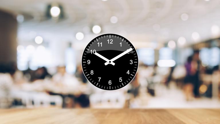 【Mac】Dockにシンプルな時計を表示してくれるアプリ『Dock Clock App』