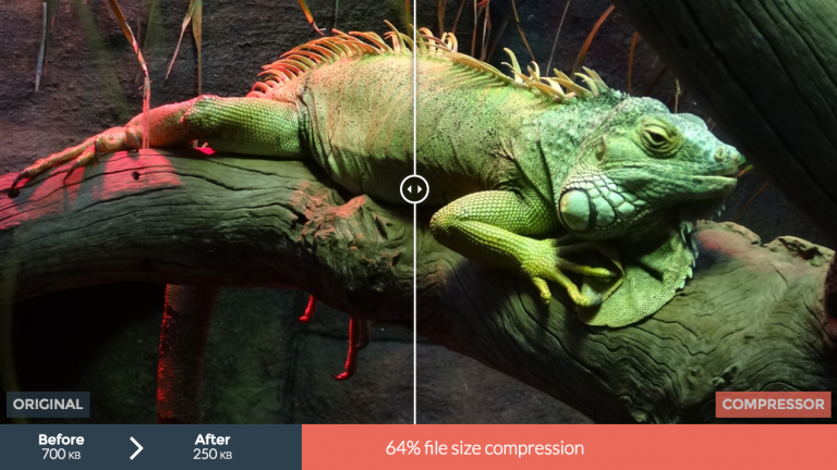 GIFファイルを圧縮して容量を小さくしてくれる『COMPRESSOR』