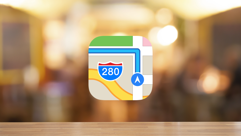 iPhoneの標準マップで一般道優先のルートを検索する方法