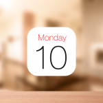 iPhoneの標準カレンダーに今日・明日・週間の天気予報を表示させる